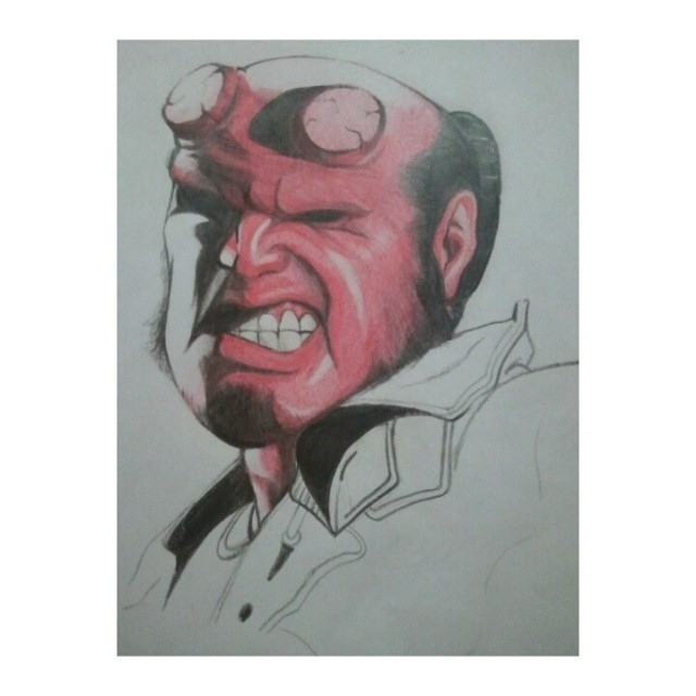 Hellboy by JasonAvenger23