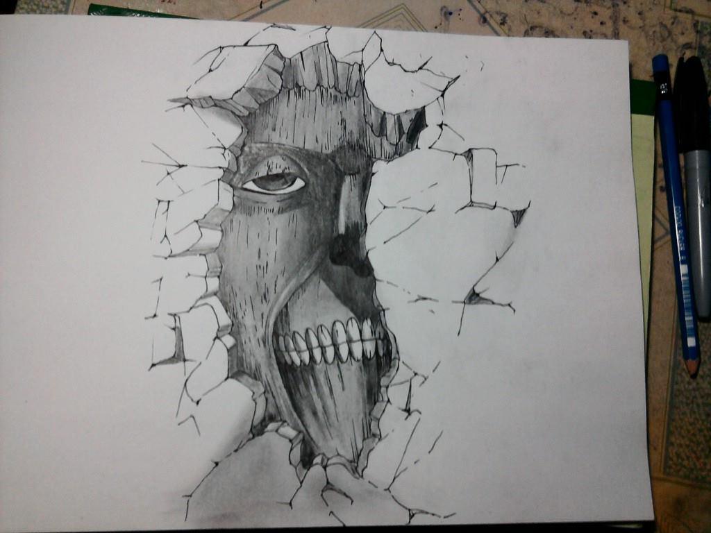 Wall Titan by JasonAvenger23