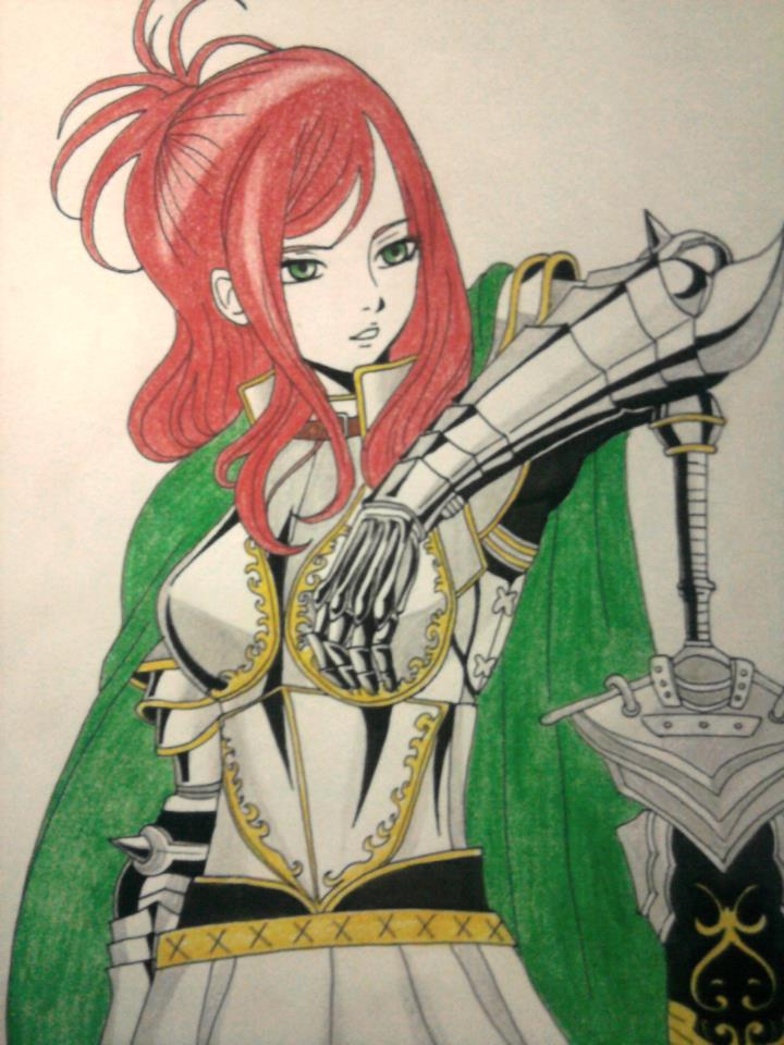 Erza Scarlet by JasonAvenger23