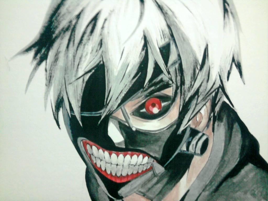 Tokyo Ghoul Kaneki by JasonAvenger23