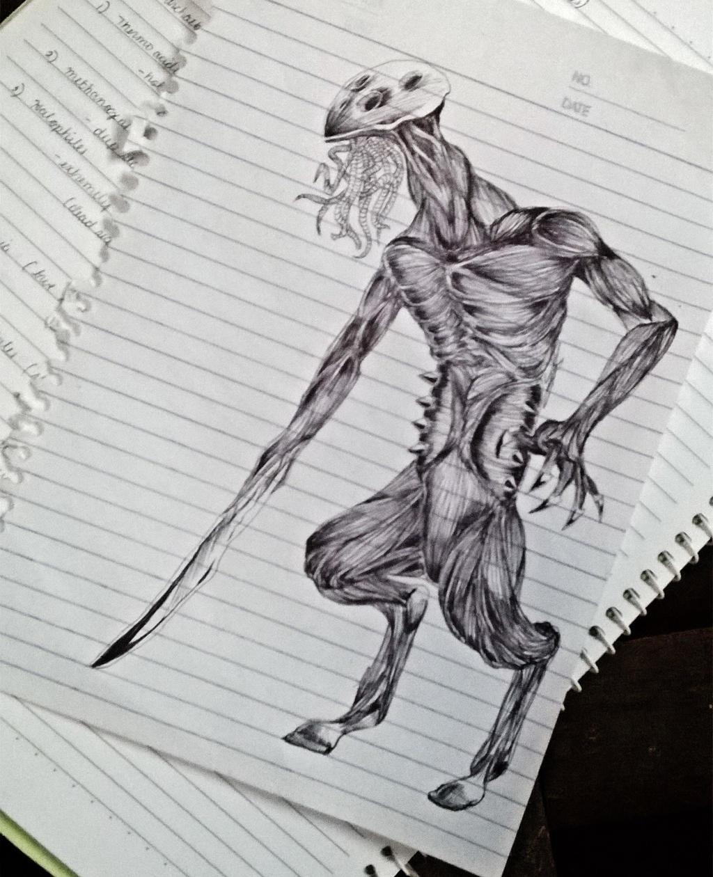 Doodle sketch #1 by JasonAvenger23