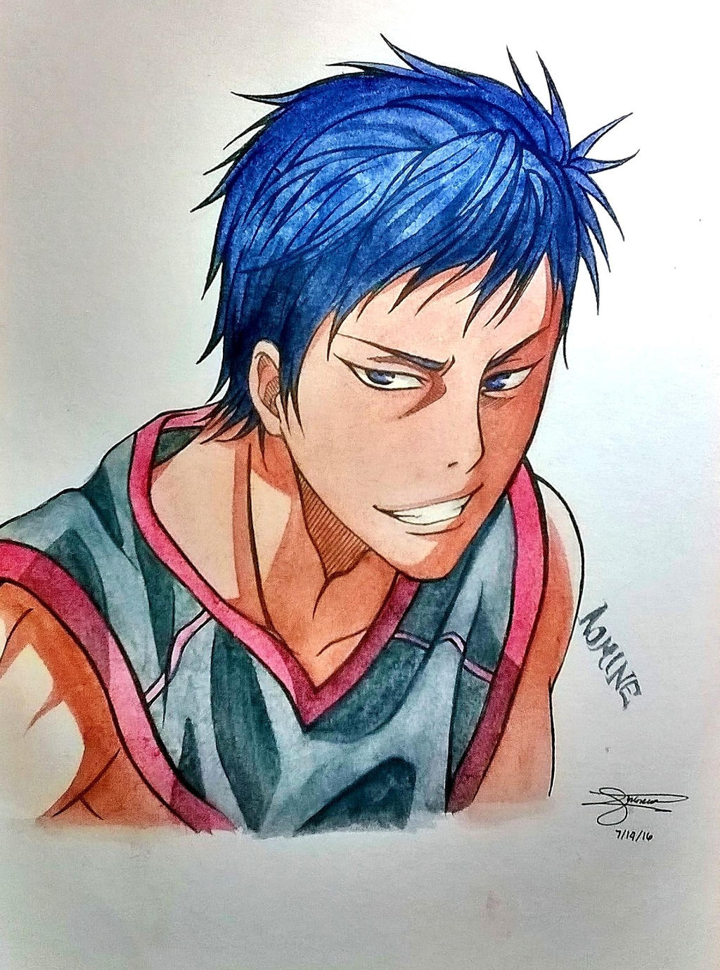 Aomine by JasonAvenger23