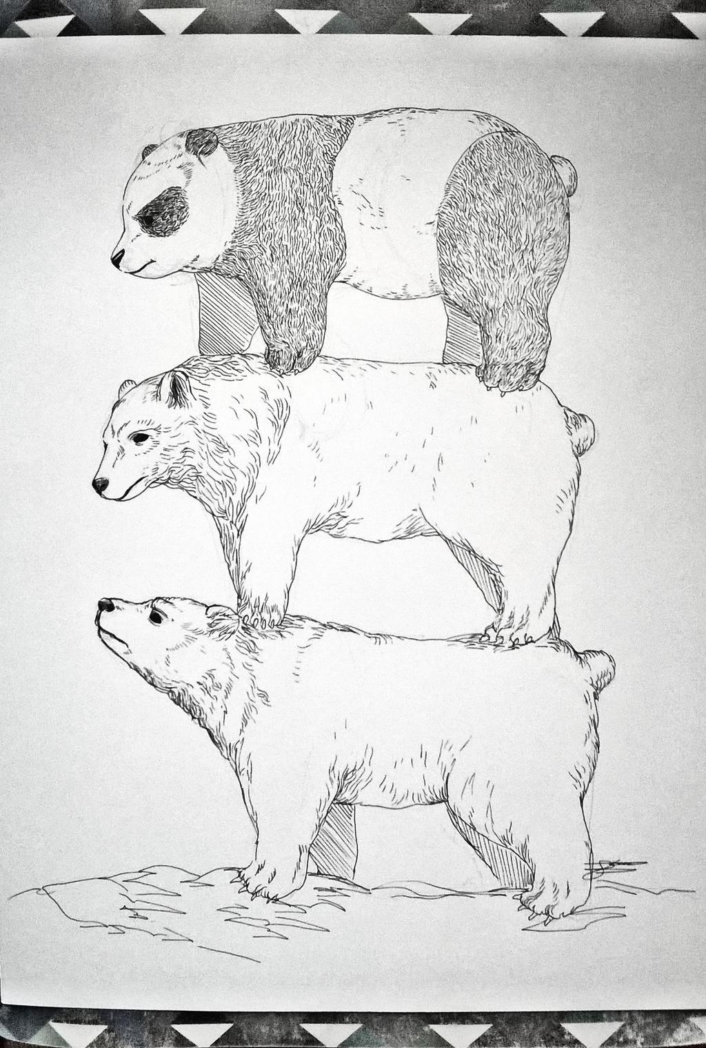 Bear Stack by JasonAvenger23