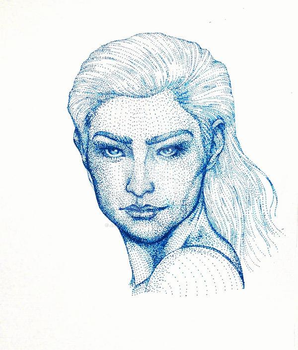 Dot Lady #1 by JasonAvenger23