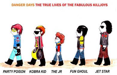 AT: The Fabulous Killjoys by LikaUra