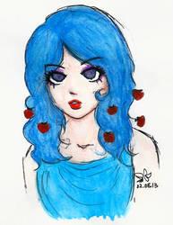 Blue Kiss by LikaUra