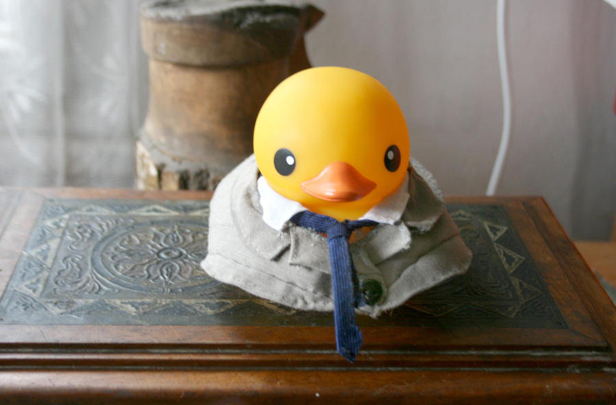 Castiel duck for Duck Nation by Monireh01