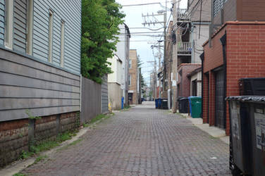 Alleyway stock