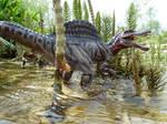 Spinosaurus, Papo, repainted