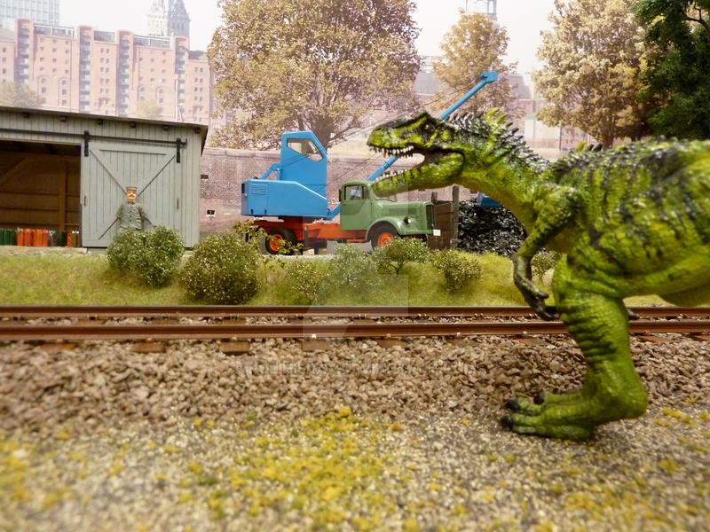 Allosaurus by Polihierax