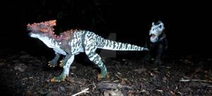 Dracorex, traced by T-Rex