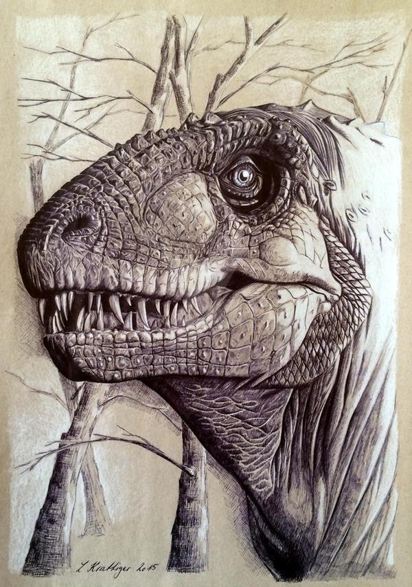 Tyrannosaurus Rex by Polihierax