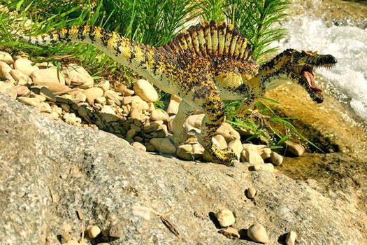 repainted Papo Spinosaurus II
