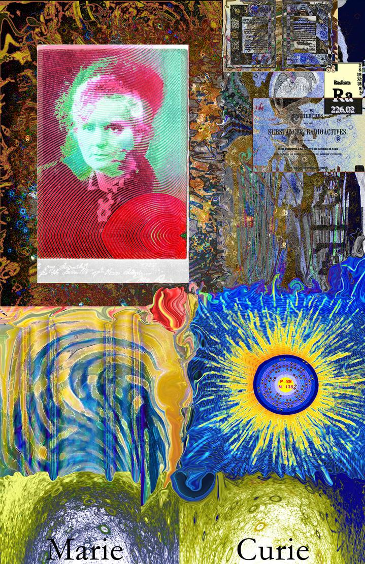 Marie Curie by Rakista