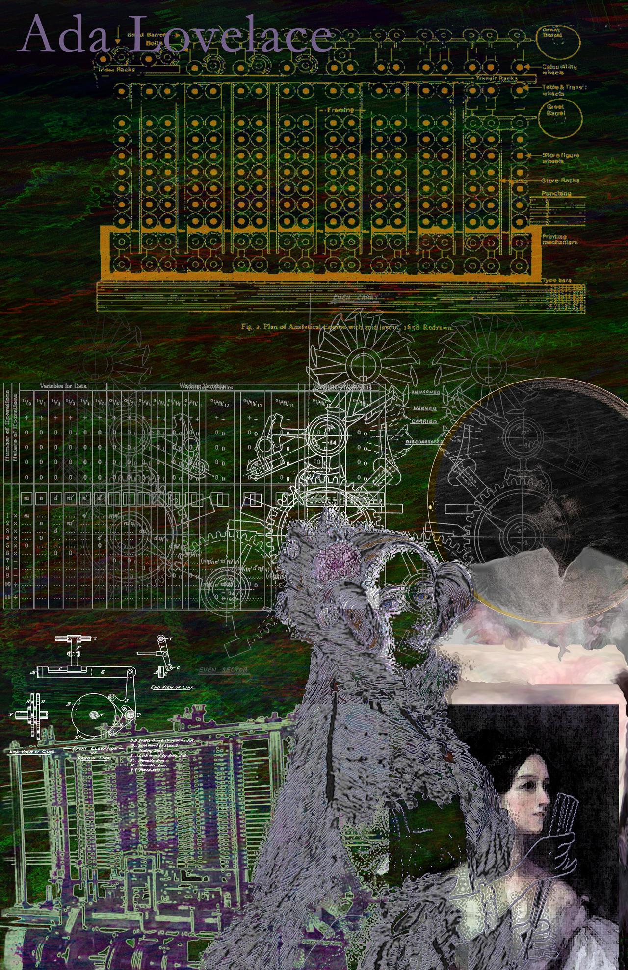 Ada Lovelace by Rakista