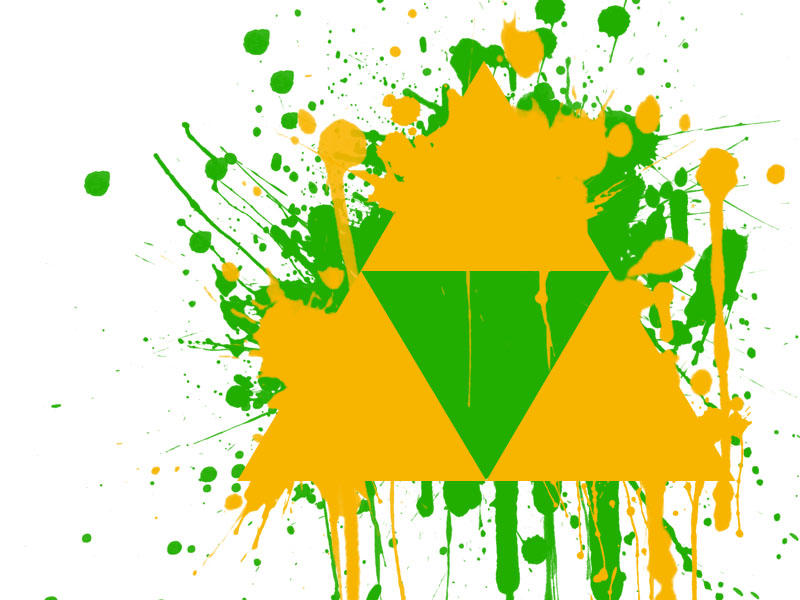 .:Triforce Grafitti:. by lostlegendz