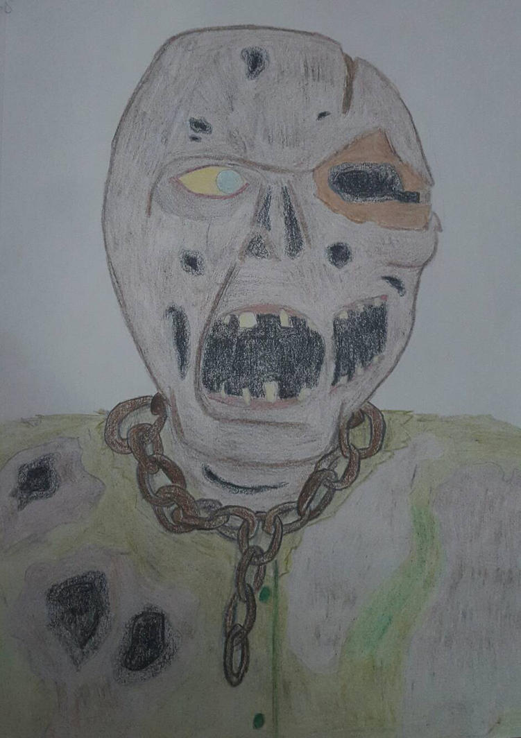 Jason Voorhees Without Mask by GeekyMonky on DeviantArt