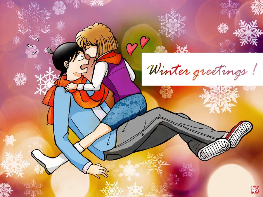Winter greetings by lamentingseraph