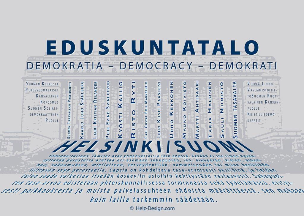 Eduskuntatalo  Demokratia