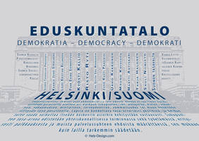 Eduskuntatalo  Demokratia by Helz-Design