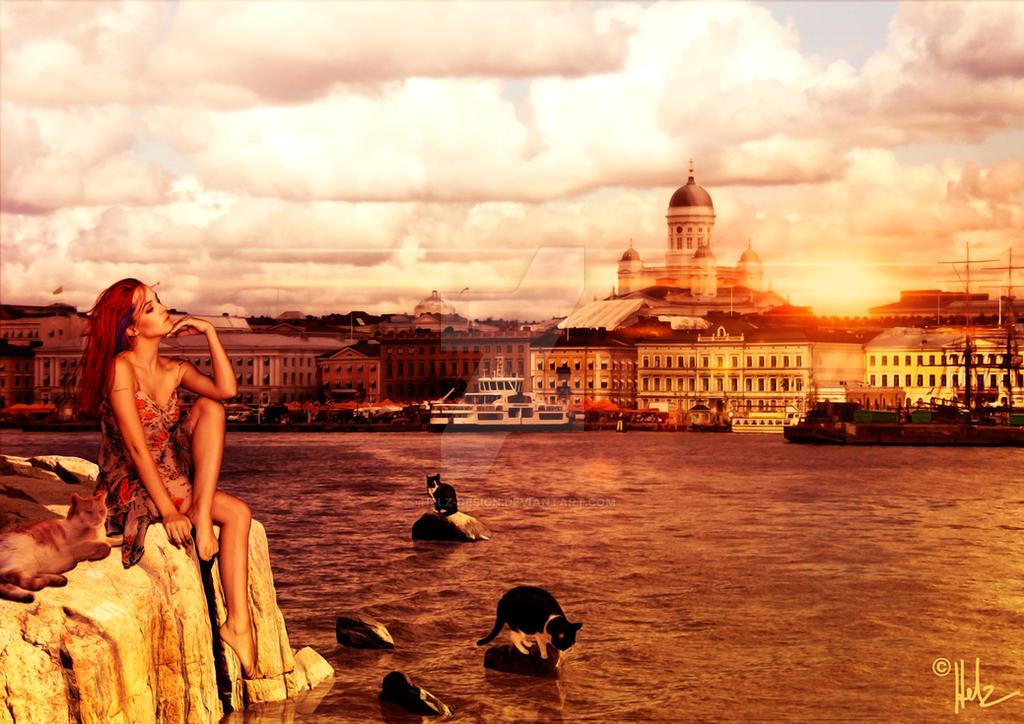 I love Helsinki by Helz-Design