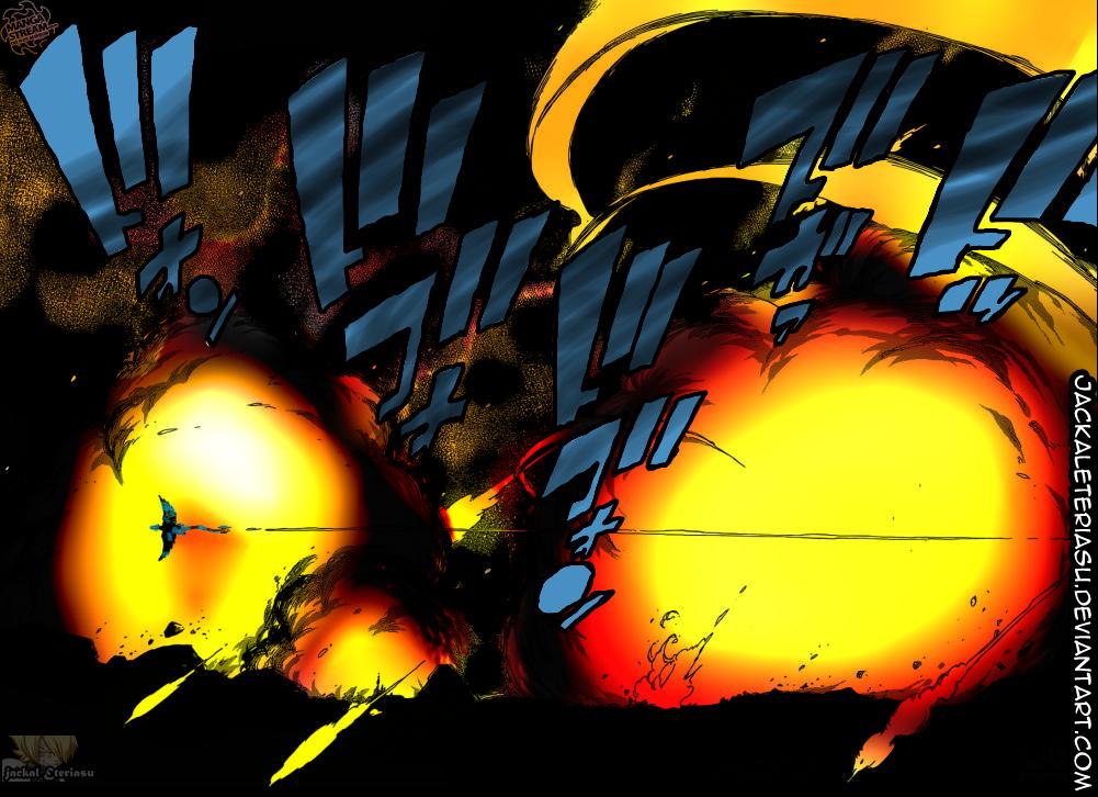 Fairy Tail 400 Acnologia Raid manga colored by JackalEteriasu
