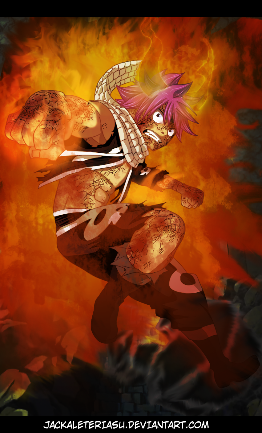 Fairy Tail 411 Natsu Dragneel Dragon Force by ...