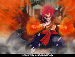 Fairy Tail 418 Natsu Returns by JackalEteriasu
