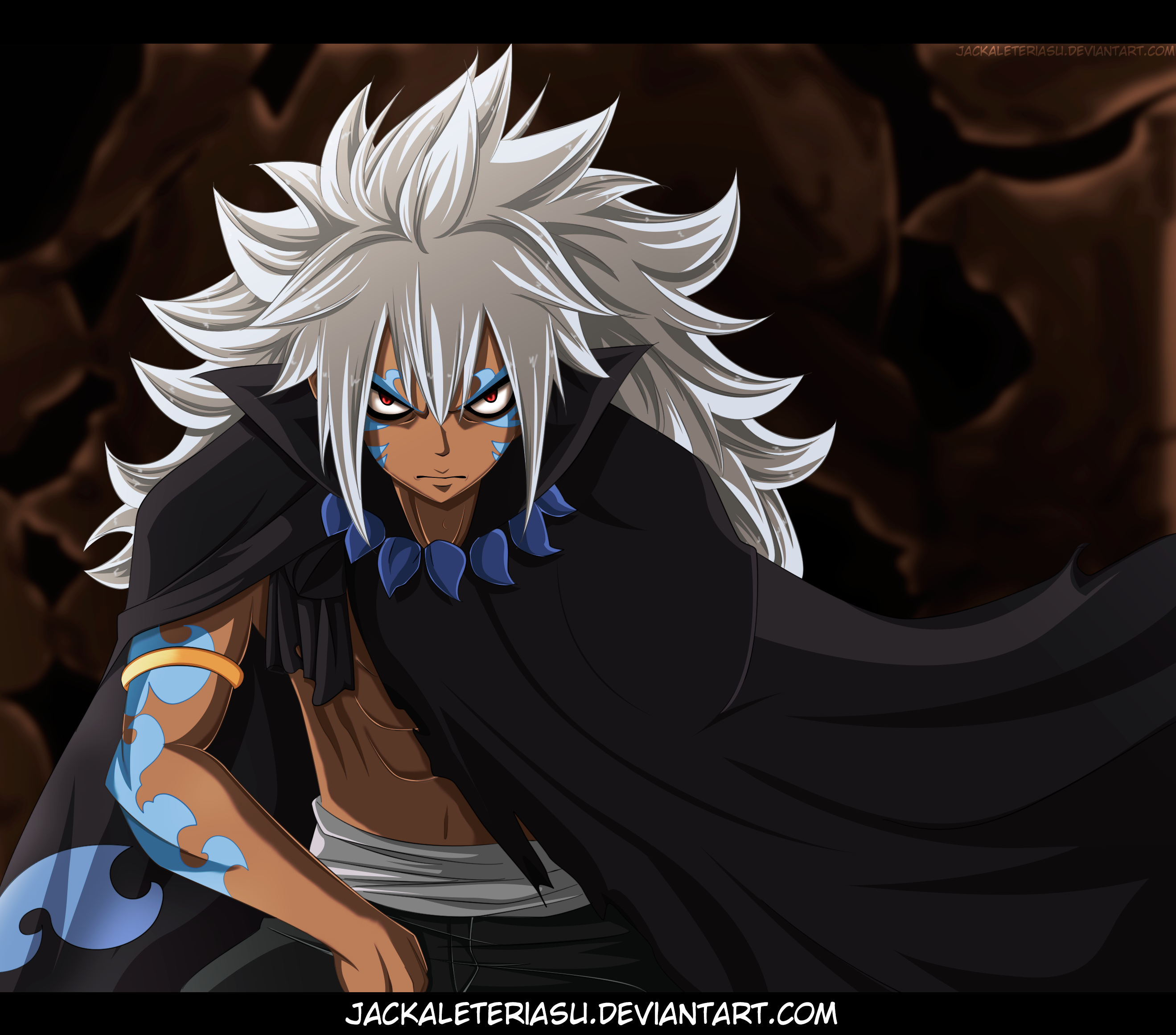 relationship of zeref and acnologia human