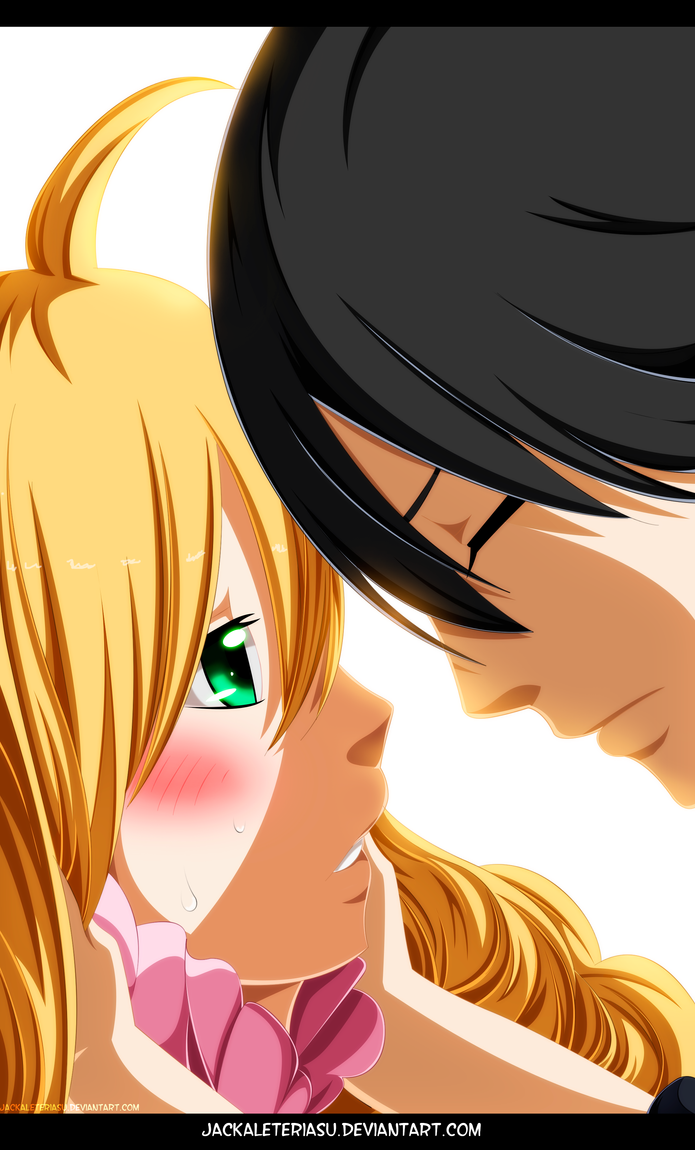 Fairy Tail 449 Mavis and Zeref by JackalEteriasu