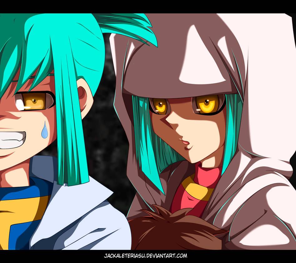 Yu-Gi-Oh 5Ds Ruka and Rua by JackalEteriasu