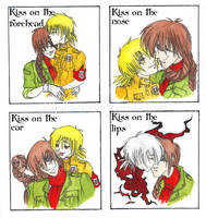 kiss meme Pip and Seras by CarambolaG