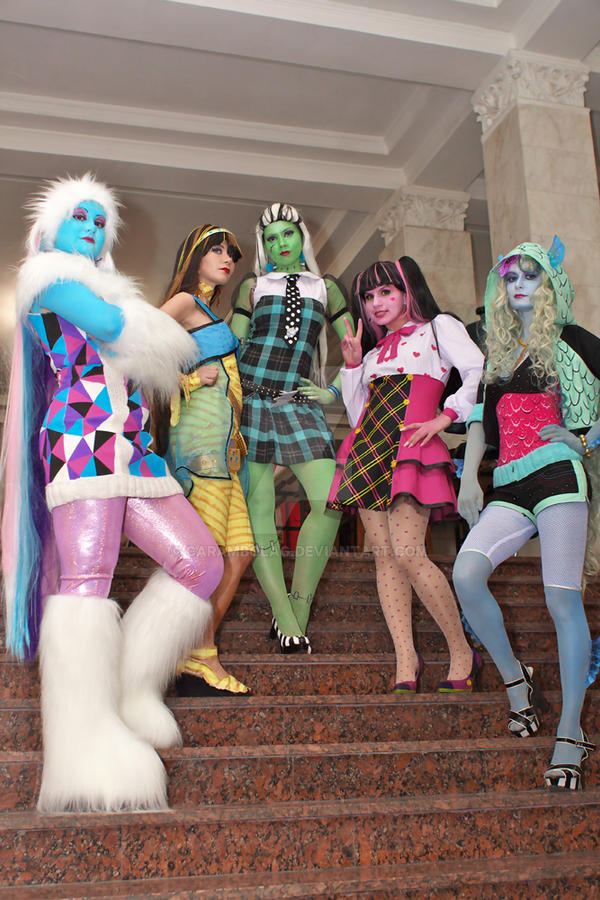 Ever After High Cosplay favourites by Huntermoon on DeviantArt