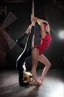 Ladybug pole dance AU by CarambolaG