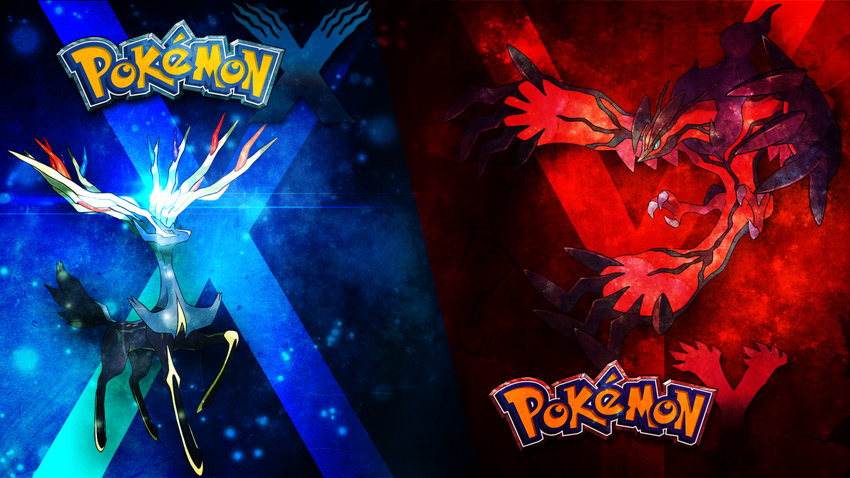 Pokemon X/Y Wallpaper by DarkiGFX