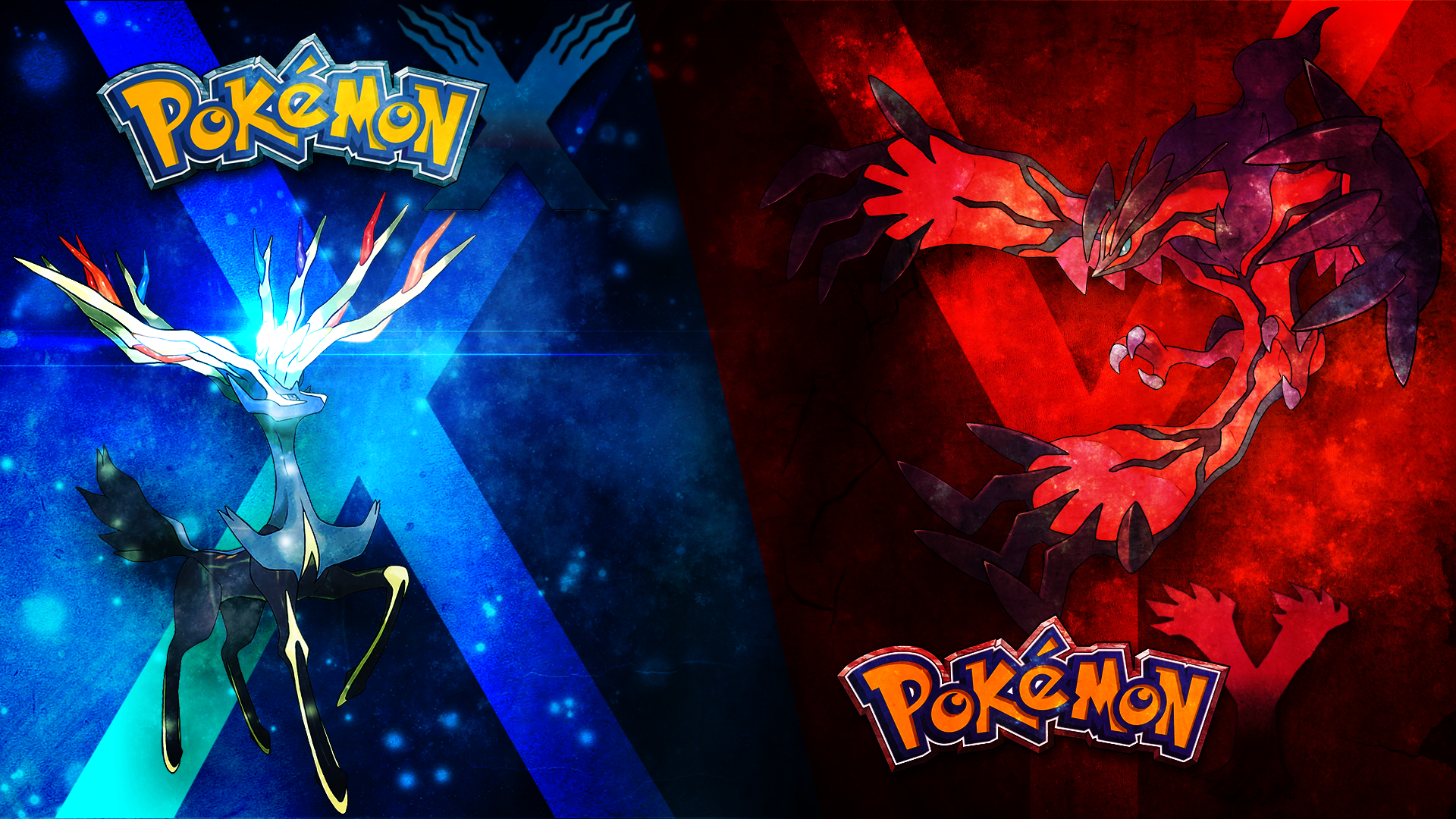 Pokemon X/Y Wallpaper by DarkiGFX