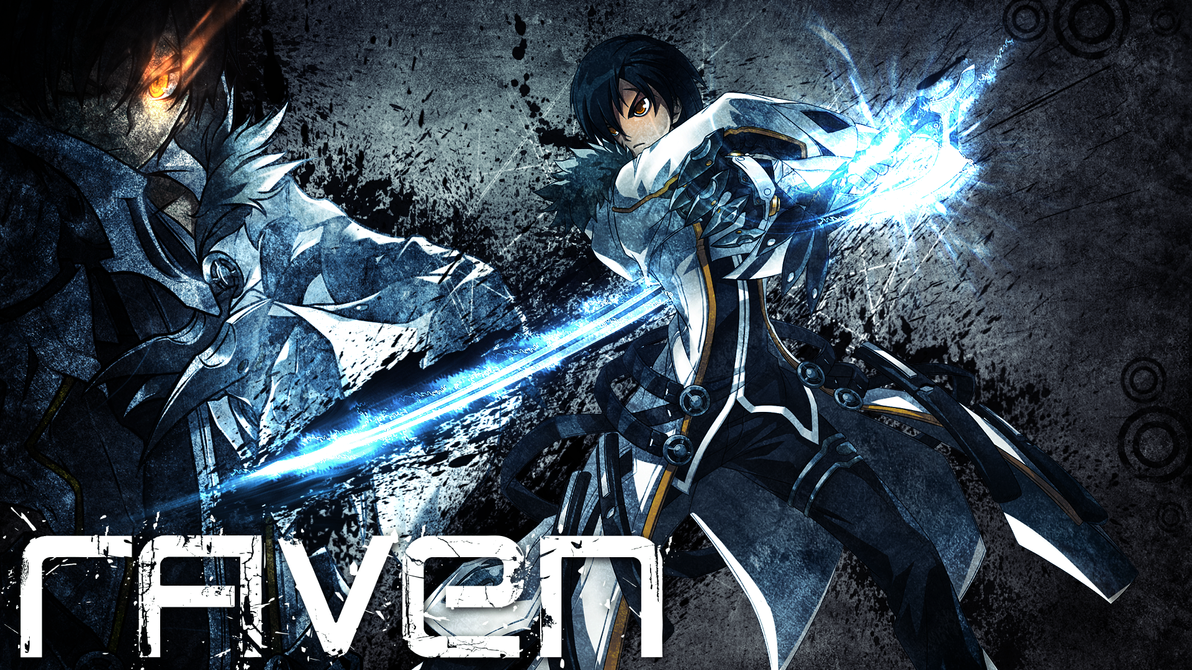 Elsword - Raven Blademaster Wallpaper 1920x1080 by DarkiGFX