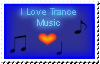 DA Stamp: I Love Trance Music by ryus-girl