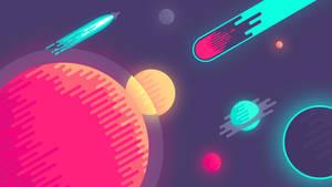 Space Flat Wallpaper