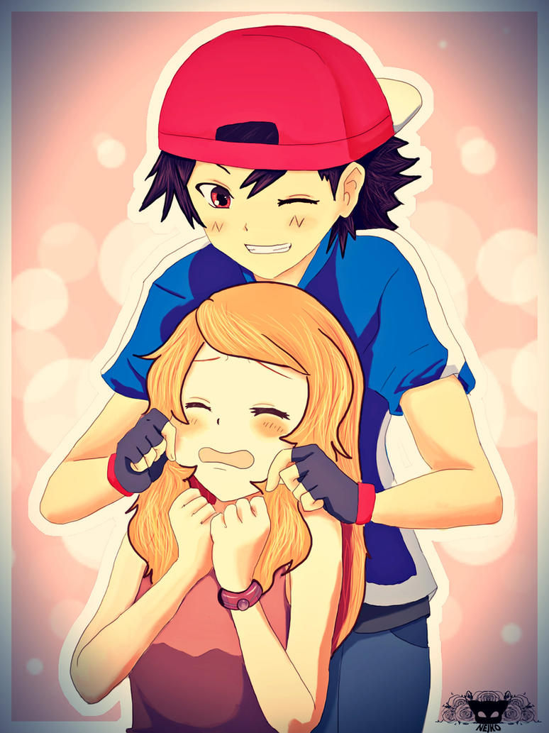 Pokemon ash and serena sex