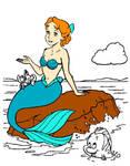disney wendy mermaid