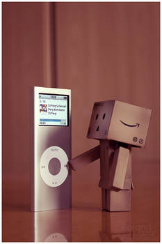 danbo and the ipod