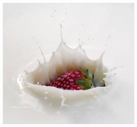 Strawberry and milk rendezvous