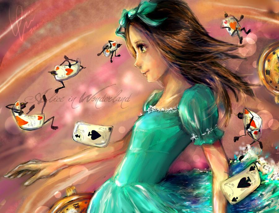 _Alice In Wonderland_ by DZIU09