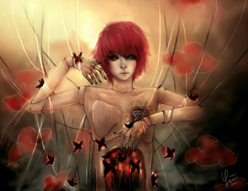 Sasori_Feeling of eternity by DZIU09