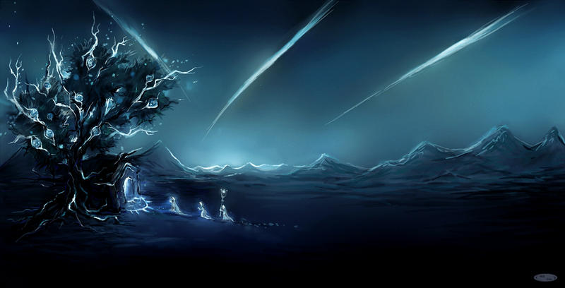 the portal of light by DZIU09