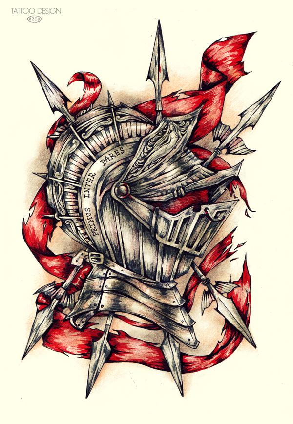 Tattoo Design_Primus Inter Pares By DZIU09 ...