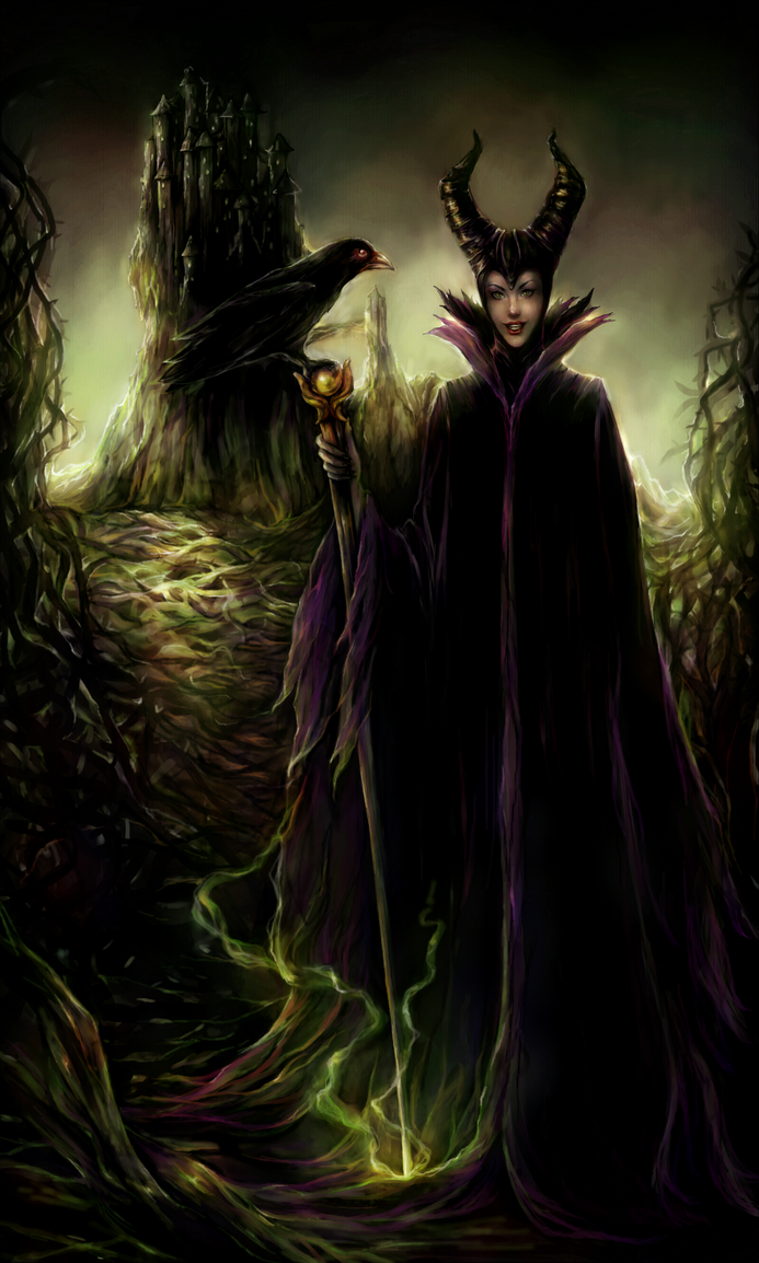 Maleficent by DZIU09