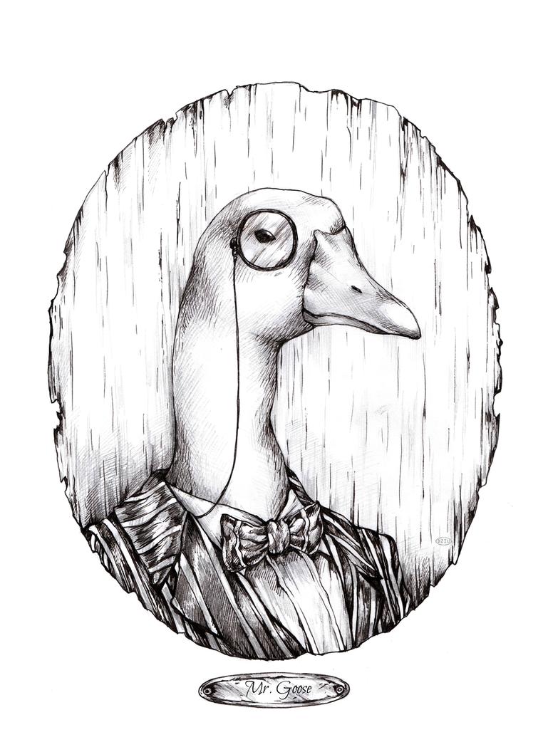 Mr.Goose by DZIU09