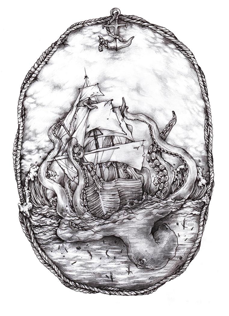 Kraken by DZIU09